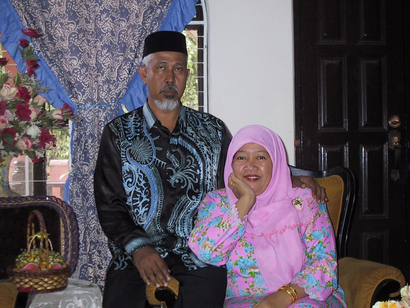 A mature couple