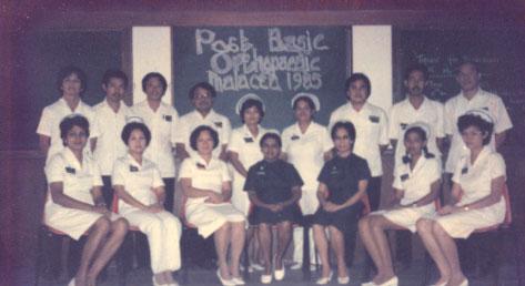 At Nursing College Malacca